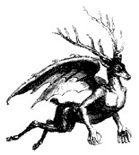 Image of Furfur from Collin de Plancy's Dictionnaire Infernal
